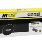 Купить картридж НР CE505A (совместимый)