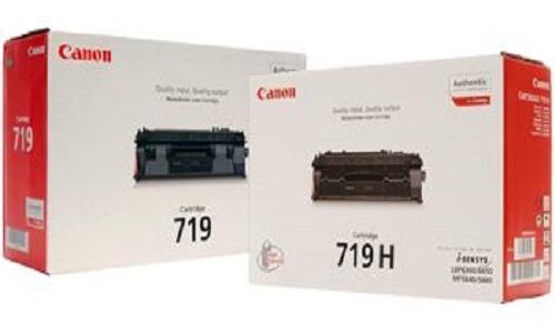 Заправка картриджа Canon 719, Canon 719H