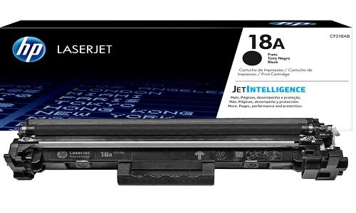 Заправка картриджа HP CF218A (#18A)