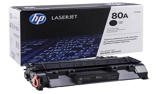 Заправка картриджа HP CF280A (80A)